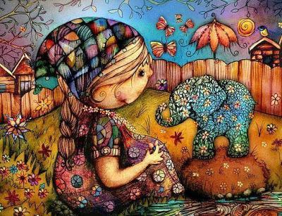 Uma criança saudável é espontânea, barulhenta, inquieta, emotiva e colorida!